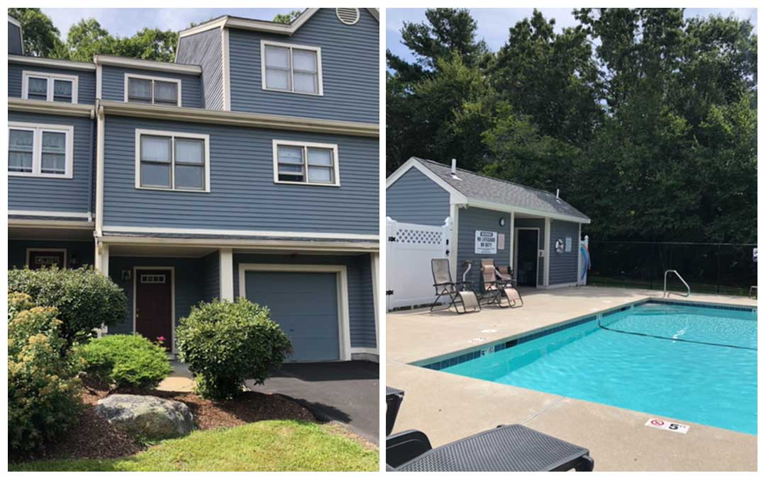 Great Peabody Location, Pool, Peace, and Quiet
